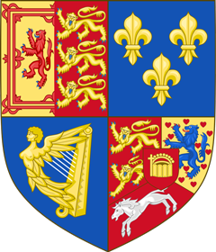 Arms of Great Britain in Scotland (1714-1801)