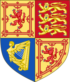 Royal Arms of the United Kingdom (Scotland) (Variant 1)