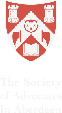 Society of Advocates in Aberdeen Logo